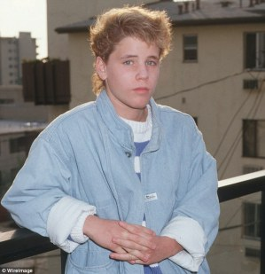 Horrific: Feldmanrevealed that his friend Corey Haim (above in 1987) was raped when he was just 11-years-old