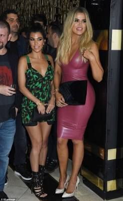 Party time! Kourtney Kardashian made sure she was on hand to celebrate the 33rd birthday of her former flame Scott Disick as she joined him at his bash at Las Vegas' 1 OAK Nightclub at The Mirage Hotel on Friday evening