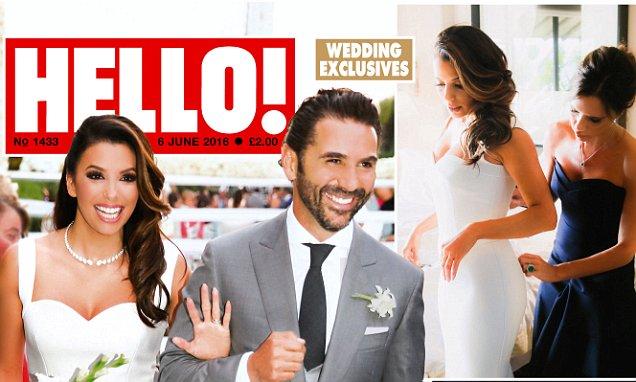 Eva Longoria Loves Dream Wedding Gown Designed By Victoria