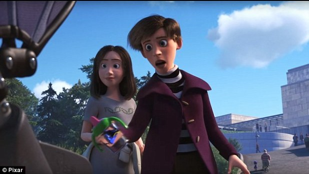 The trailer for Pixar's Finding Dory has been released to both fanfare and controversy after viewers pointed out the two-minute clip may feature a lesbian couple (pictured)