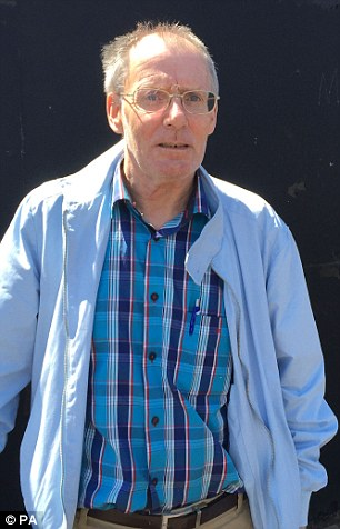 Victim: Clint Massey, a former resident of the home, pictured outside the public inquiry today