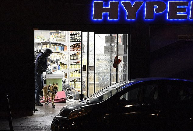 About 8,000 French Jews moved to Israel in 2015, according to Israeli figures, in a year that a jihadist gunman linked to the Charlie Hebdo attackers killed four people in a kosher supermarket (pictured) in the French capital