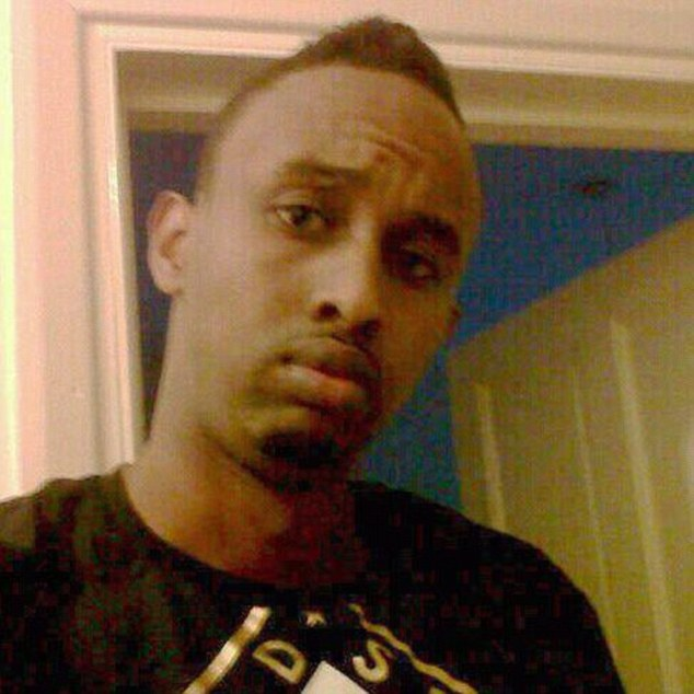 Somalia-born Muhiddin Mire, pictured, has admitted attacking Mr Zimmerman but denies attempted murder