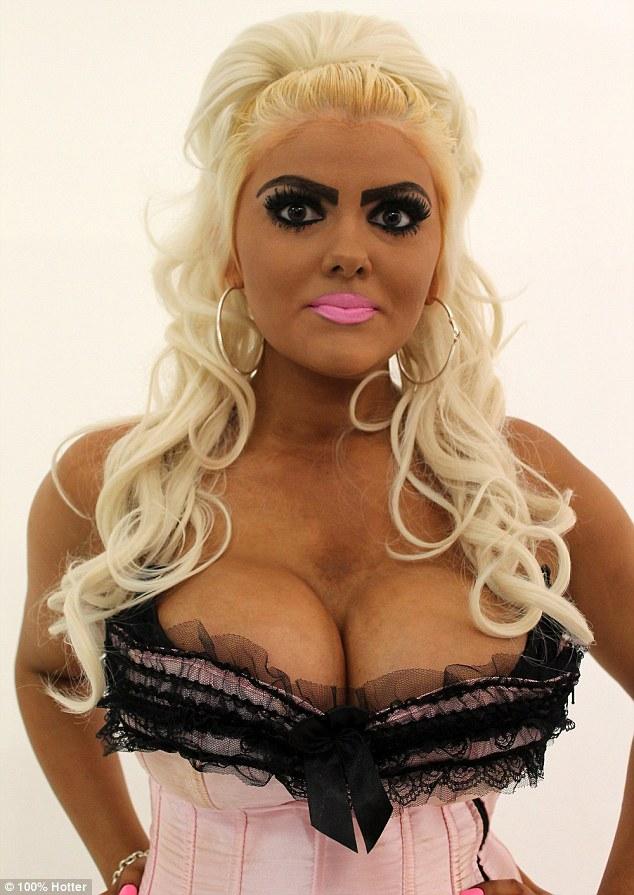Barbie Fan Who Applied Fake Tan TWICE A Day Looks