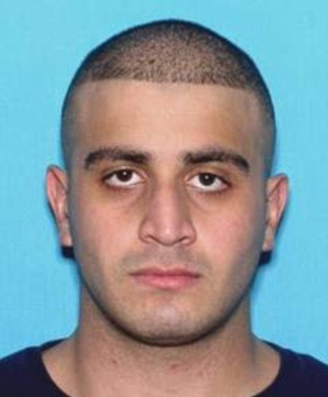 Shooter Omar Mateen (pictured), 29, from Port St. Lucie in Florida, opened fire at Pulse night club in the early hours of this morning