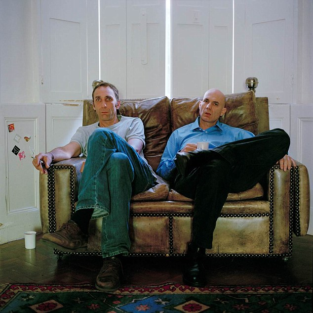 Will Self's brother Joss, right, admitted in his biography he had an affair with a woman 30 years his senior when he was aged just 16, naming her as June - which was the real first time of Jill Freud - Clement's wife
