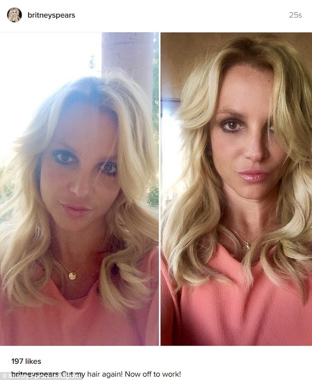 Britney Spears Gushes Over Another Trim As She Posts A
