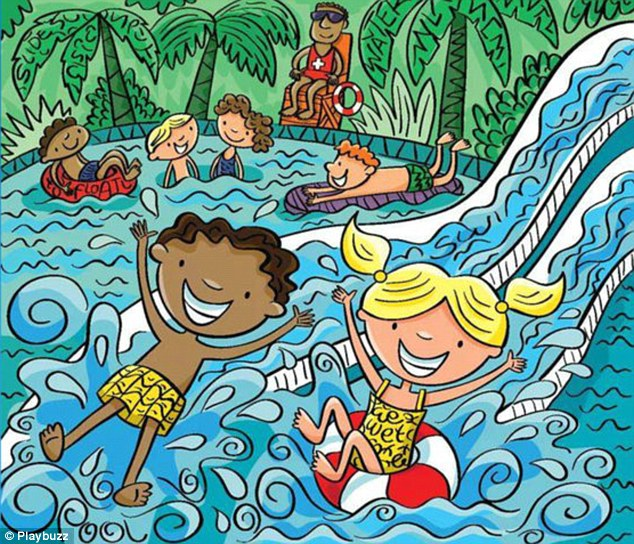 Can YOU Find The Words Hidden In The Water Park Daily