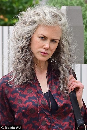 Nicole Kidman Slicks Back Her Famous Red Locks On Her 49th