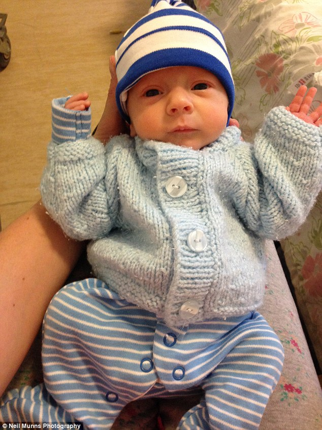 Tragic: Ben Condon died at just eight-weeks-old last April and hospital bosses have been accused of a string of errors in his death