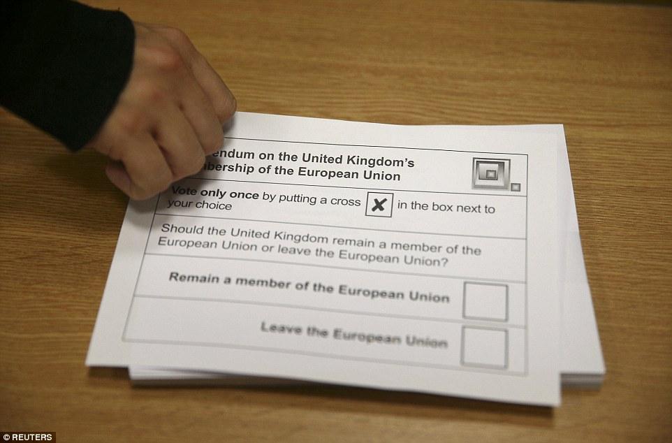 ¿Dentro o fuera? Los británicos responderán hoy a esta pregunta - si quieren permanecer en la UE o salir