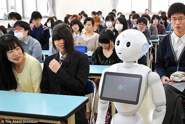 Resultado de imagen para japanese robot teacher
