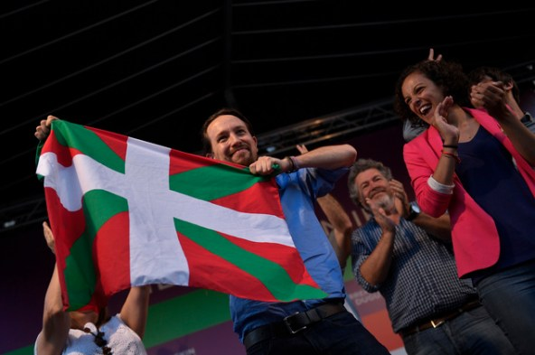 Image result for Pablo Iglesias Basque flag