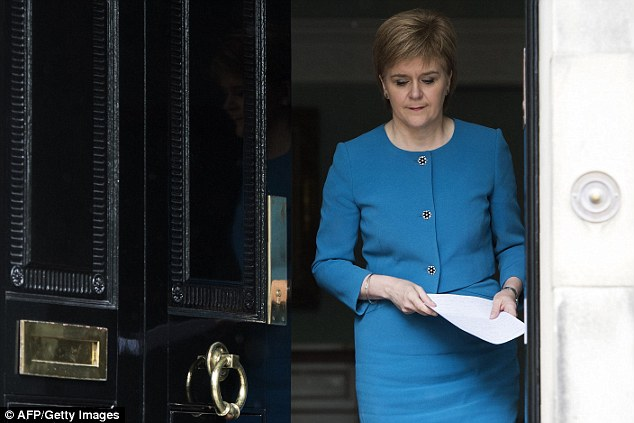 After the Brexit vote, the SNP leader Nicola Sturgeon said she was seeking 'immediate discussions' with Brussels to 'protect Scotland's place in the EU'