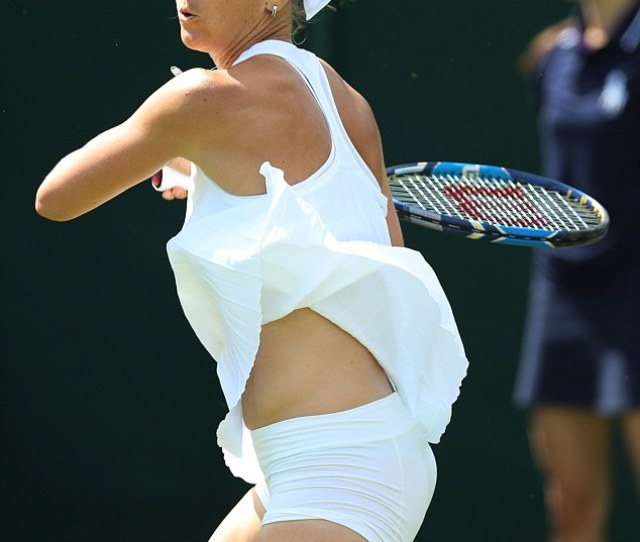 The Czech Tennis Star Looked To Be Struggling With Her Kit