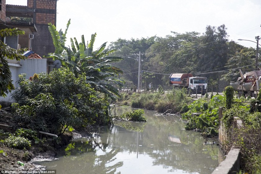 No clean-up here: Pollution on waterways around the Olympic venues has not been resolved by the city or the state. Brazil's economy, according to the World Bank, said to have shrunk by 3.7 percent in 2015 and 2.5 percent this year.