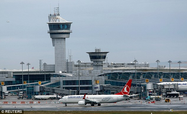 A file image of the Ataturk International Airport in Istanbul, which is the country's largest airport. Explosions and gunfire have hit the airport, although it is not yet clear whether it was a terror attack or suicide blast, according to officials