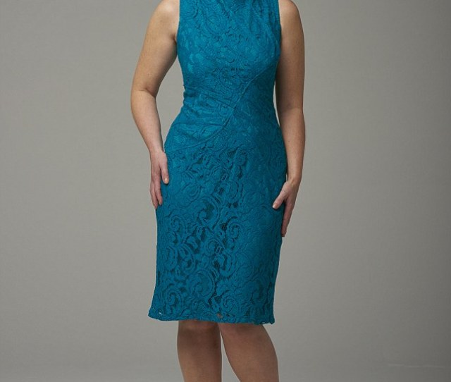 Feels Like A Dream Lace Shift  By Adrianna Papell At Dreamwardrobe