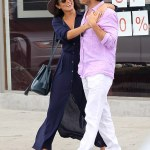 Ian Somerlhalder & Nikki Reed Take A Romantic Stroll In California