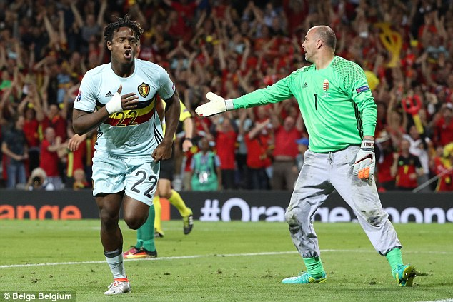 Marseille's Michy Batshuayi, currently at Euro 2016 with Belgium, is ready to seal a move to Stamford Bridge