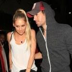 Still Going Strong : Enrique Iglesias & Girlfriend of 15 Years Anna Kournikova Spotted In Beverly Hills