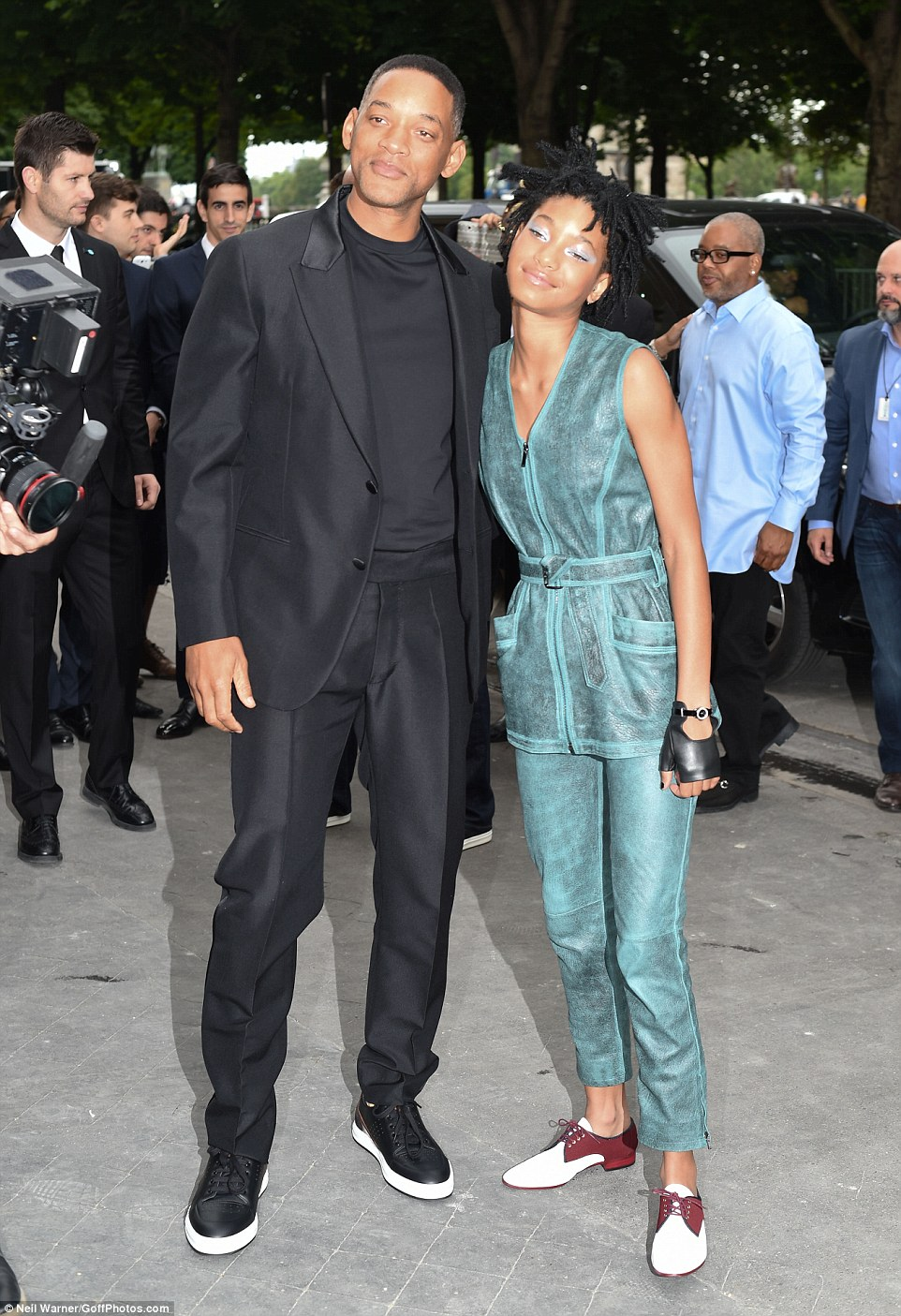Willow Smith Exhibits Her Youthful Flare For Fashion As