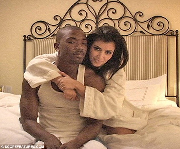 Co-stars: Ray J and Kim appeared in a sex tape Kim Kardashian Superstar in 2007 - which was filmed three years earlier