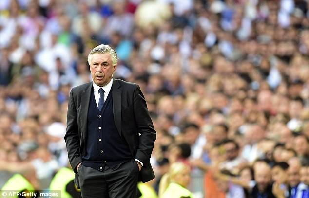 Carlo Ancelotti managed the pair during his two-seasons in charge of European champions Real Madrid