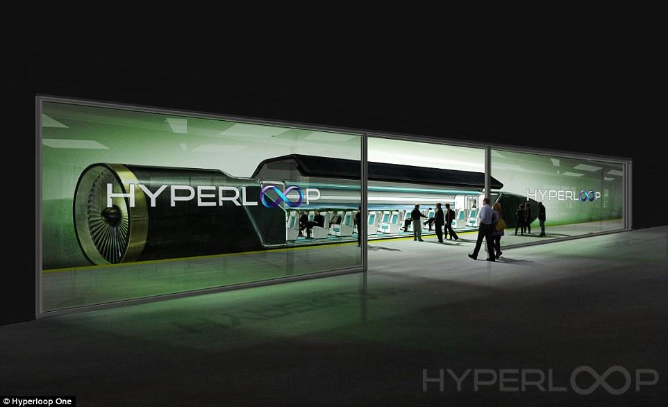 Resultado de imagen de hyperloop one