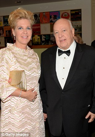 Roger Ailes and wife Elizabeth