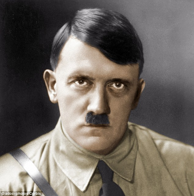 Antonio Nogara, son of Bartolomeo Nogara, the former director of the Vatican museums, is the now-deceased author of the report which states Hitler (pictured) intended for an elite SS commando squad to sieze the pontiff