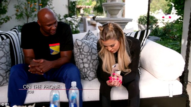 Surprise! Unexpectedly, Rob does in fact answer the call, which was at least somewhat of a relief to Khloe