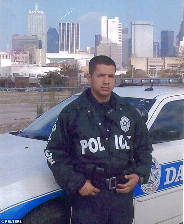 Zamarripa, 32, was among five officers shot dead by Micah Xavier Johnson in Dallas on Thursday as he sniped off police from high vantage points before holing up inside a garage
