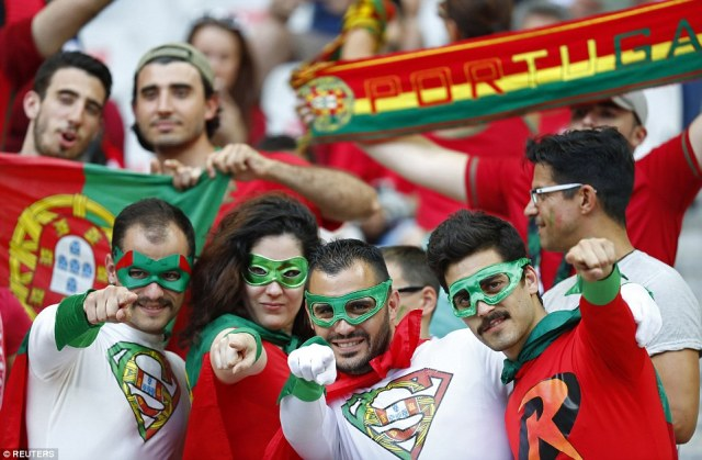 Portugal have not beaten France since 1975 and are seen as outsiders for the game, despite the presence of Cristiano Ronaldo in attack