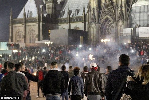 The attack came in August when the two young men took a tram from Cologne's Cathedral Square, the site of the New Year migrant sex attacks in 2015