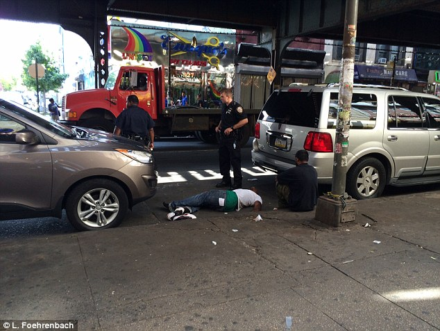 Witnesses reported seeing more than a dozen people passing out, vomiting, urinating and twitching in the middle of the street around 9.30am in the Bedford-Stuyvestant and Bushwick neighborhoods