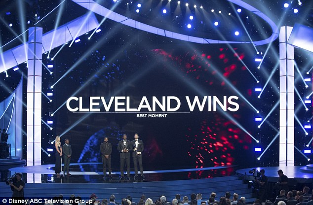 Cleveland Cavaliers picked up the best team award following their NBA Championship triumph