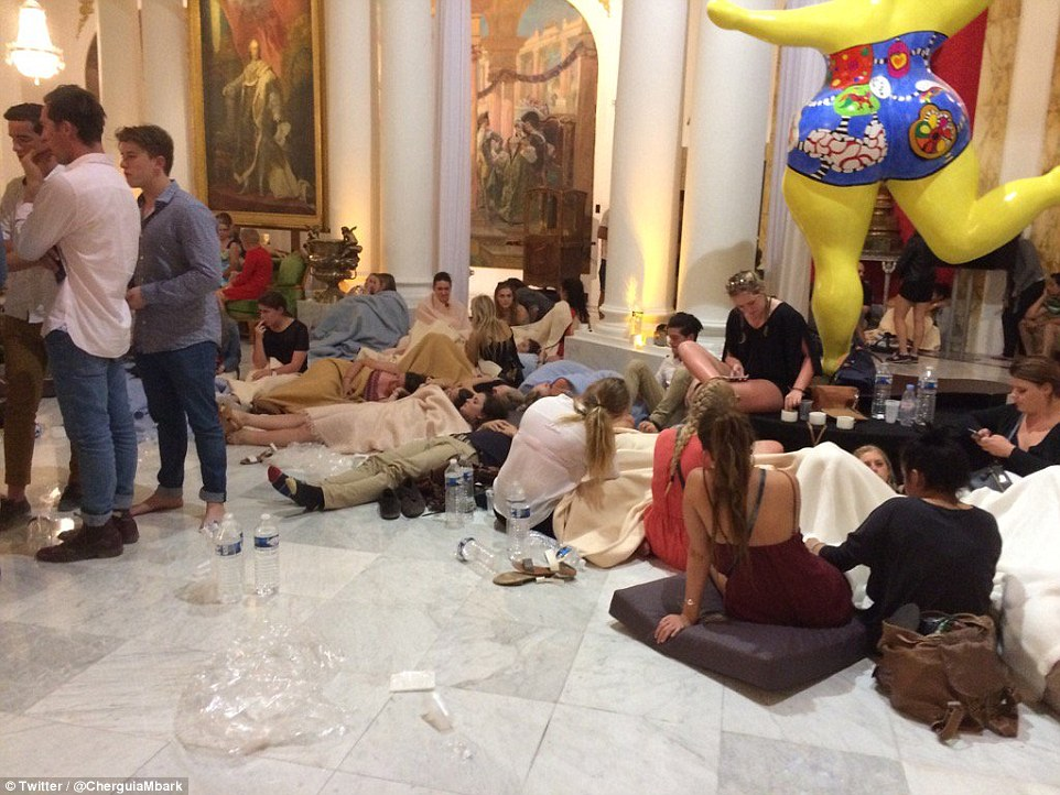 The Hotel Negresco was used as a make-shift triage centre to house survivors of last night's terrorist attack