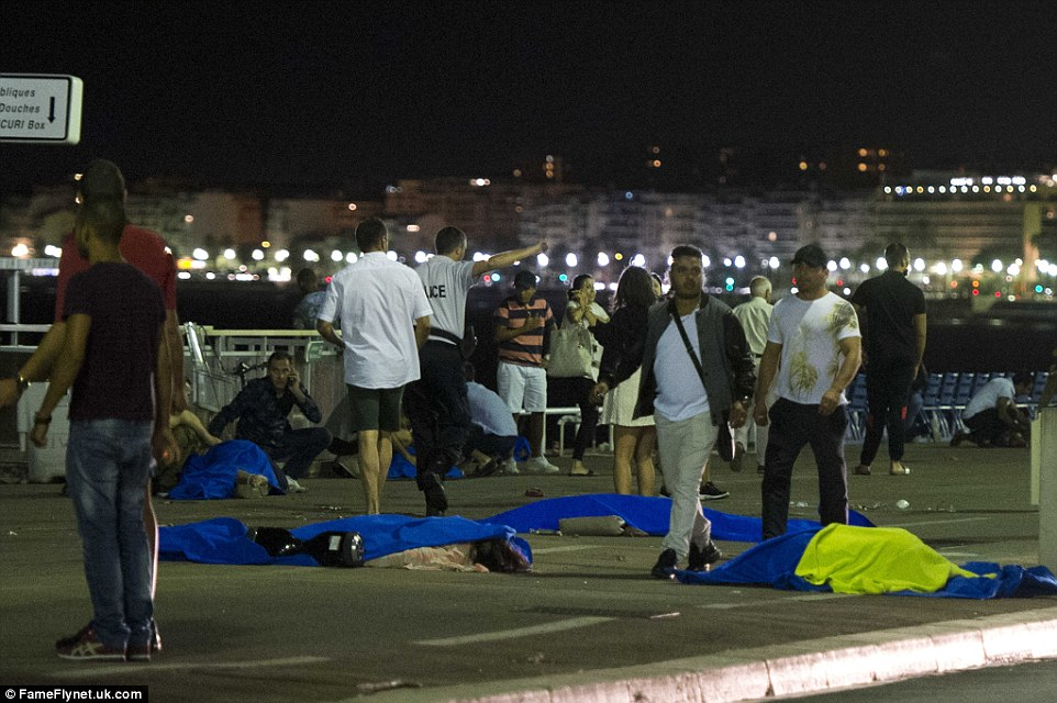 Bodies were strewn over a one-mile long section of the beach front according to witnesses who survived the terror attack