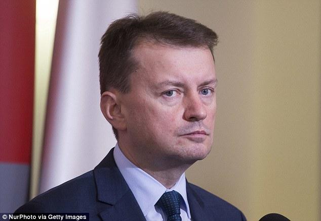 Poland's Interior MinisterMariusz Blaszczak blamed last night's NIce attack on 'multiculturalism'