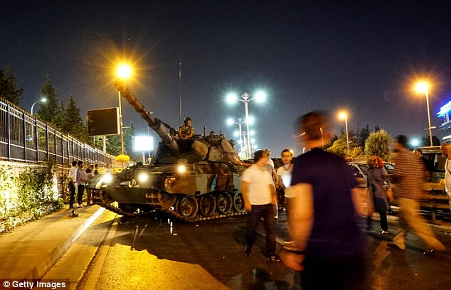 Protesters blocked the tanks from seizing the airport, which allowed President Erdogan to make his triumphant return to Istanbul in a move that signaled the military's waning momentum
