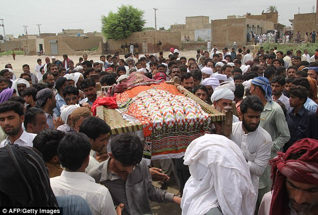 Her death has provoked outrage among large sections of the community over the 'epidemic' of honour killings