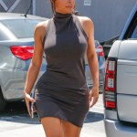 Sexy,Slutty Or Both? Kim K West Style In LA