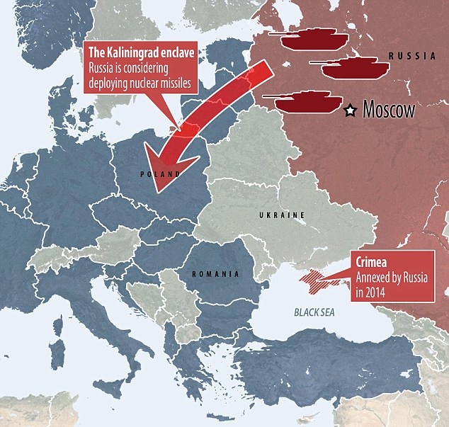 As Trump Cozies Up To Russia US Deploys Troops To Poland And - Us troops near russia map