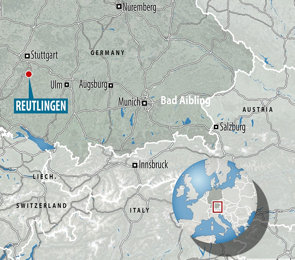 The attack happened in Reutlingen, south west Germany close to the major city of Stuttgart. The attack comes as Germany is on edge, following a rampage at a Munich mall on Friday night in which nine people were killed, and an axe attack on a train a week ago that left five wounded