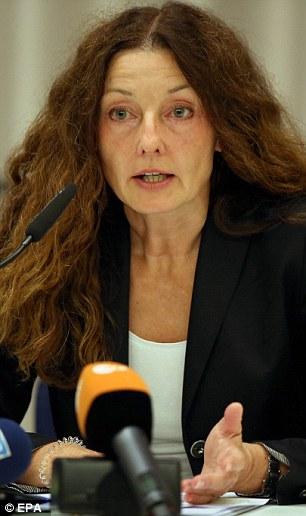 Mayor of Ansbach Carda Seide