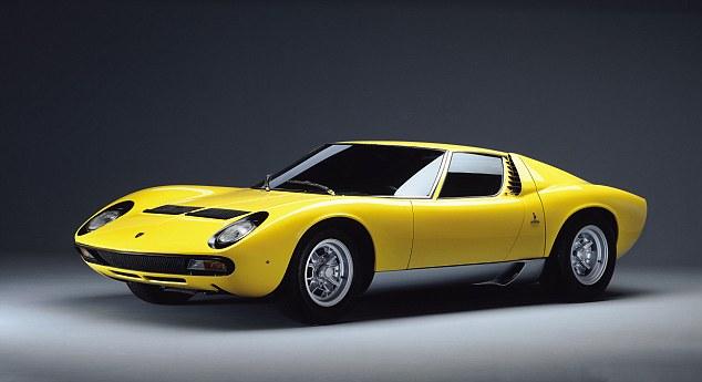 Lamborghini's Miura has delighted car fans since Marcello Gandini's masterpiece was revealed in 1966