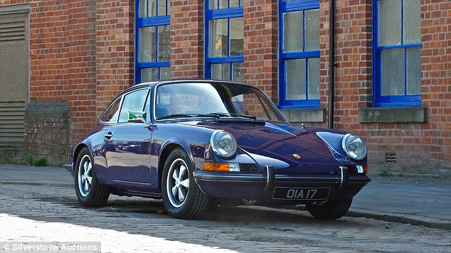 This 1972 Porsche 911 is for sale at the Silverstone Classic auction with an estimate of £85,000 to £95,000