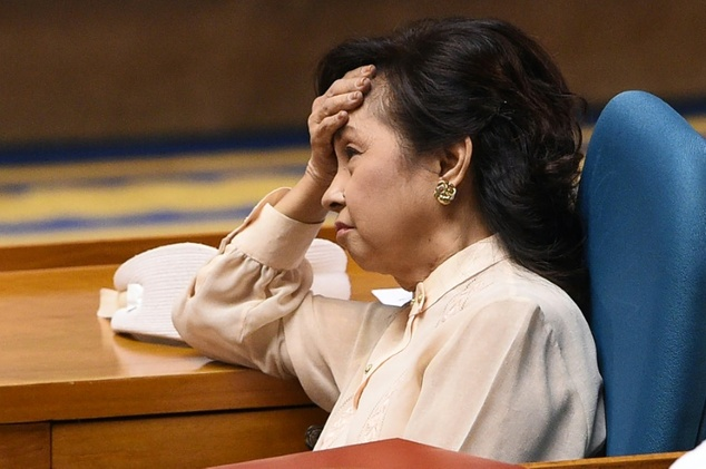 Image result for gloria arroyo crying