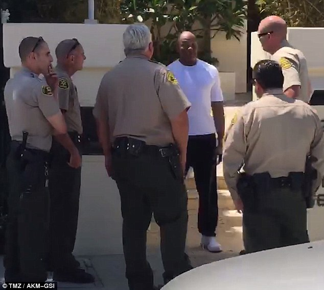 According to TMZ, Dre had taken out a cell phone to film the driver yelling at him, and the driver had shouted, 'Here we go again, another black guy with a gun'